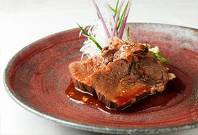 牛タンシチューコチュジャン味噌ソース